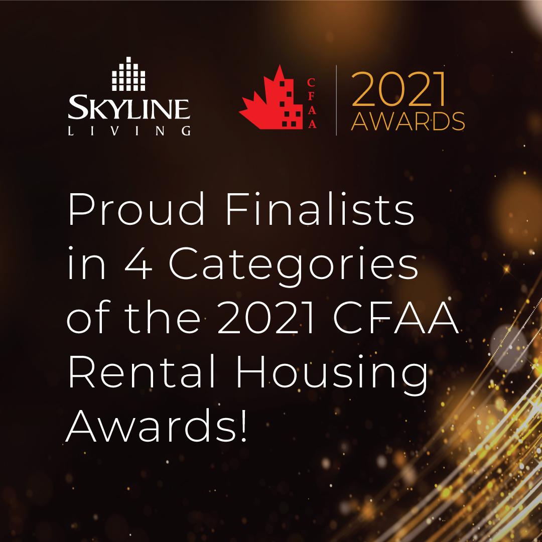 Skyline Living CFAA Finalist Post INSTAGRAM 1